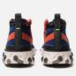 Мужские кроссовки Nike React Mid WR ISPA Blue Void/Black/Team Orange/Phantom фото - 2