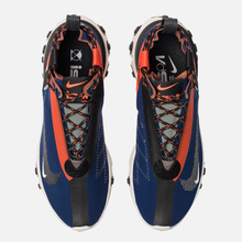 Кроссовки Nike React Mid WR ISPA Blue Void/Black/Team Orange/Phantom фото- 1