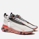 Кроссовки Nike React Mid WR ISPA Summit White/Off White/Light Crimson фото- 2