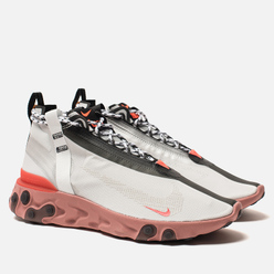Кроссовки Nike React Mid WR ISPA Summit White/Off White/Light Crimson