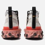 Кроссовки Nike React Mid WR ISPA Summit White/Off White/Light Crimson фото- 3
