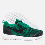 Мужские кроссовки Nike Roshe NM Flyknit SE Lucid Green/Black/White фото- 2