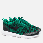 Мужские кроссовки Nike Roshe NM Flyknit SE Lucid Green/Black/White фото- 1