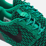 Мужские кроссовки Nike Roshe NM Flyknit SE Lucid Green/Black/White фото- 4