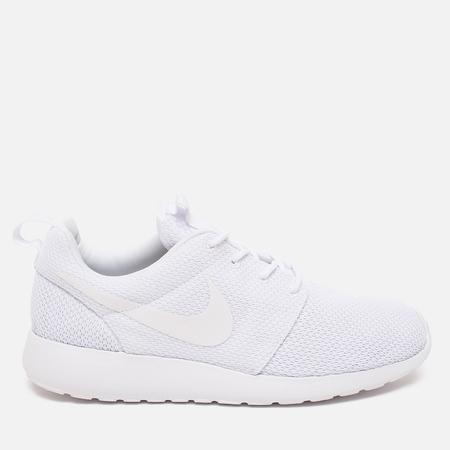Мужские кроссовки Nike Roshe One White/White