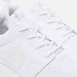 Мужские кроссовки Nike Roshe One White/White фото- 5