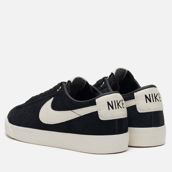 Кроссовки Nike SB Blazer Low GT Black Sail/White