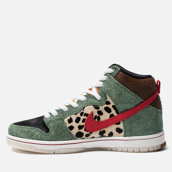 Кроссовки Nike SB Dunk High Pro QS Dog Walker Multicolor/Multicolor