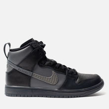 Кроссовки Nike SB x FPAR Dunk High Pro Premium QS Black/Dark Grey/Black фото- 3