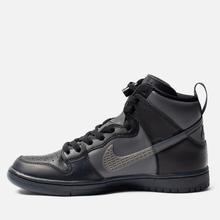 Кроссовки Nike SB x FPAR Dunk High Pro Premium QS Black/Dark Grey/Black фото- 5