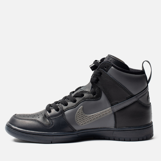 Кроссовки Nike SB x FPAR Dunk High Pro Premium QS Black/Dark Grey/Black