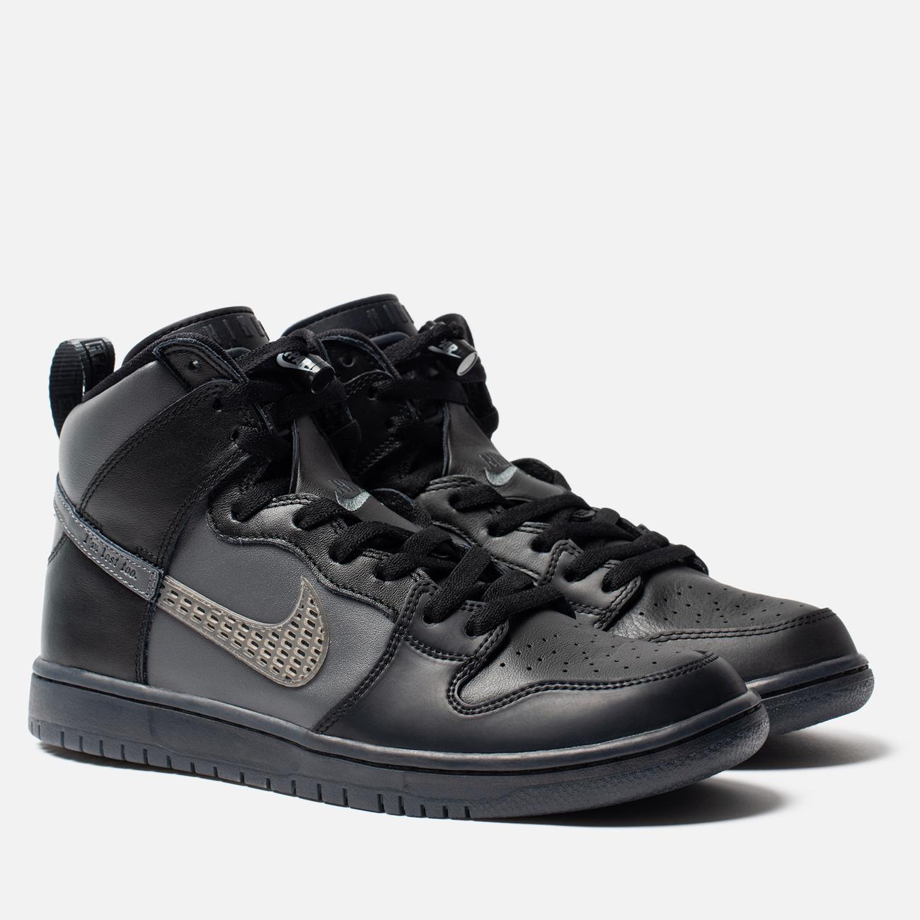 Кроссовки Nike SB x FPAR Dunk High Pro Premium QS Black/Dark Grey/Black
