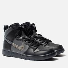 Кроссовки Nike SB x FPAR Dunk High Pro Premium QS Black/Dark Grey/Black фото- 0