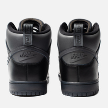 Кроссовки Nike SB x FPAR Dunk High Pro Premium QS Black/Dark Grey/Black фото- 2