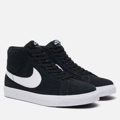 Кроссовки Nike SB Zoom Blazer Mid Black/White/White/White