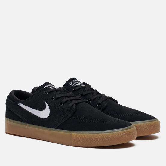 Кроссовки Nike SB Zoom Stefan Janoski Rm Black/White/Black/Gum Light Brown