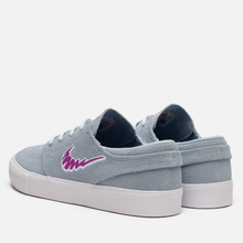 Кроссовки Nike SB Zoom Stefan Janoski Rm Light Armory Blue/Vivid Purple/White фото- 2