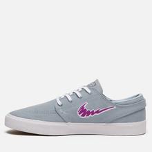 Кроссовки Nike SB Zoom Stefan Janoski Rm Light Armory Blue/Vivid Purple/White фото- 5