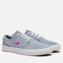 Кроссовки Nike SB Zoom Stefan Janoski Rm Light Armory Blue/Vivid Purple/White
