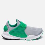 Мужские кроссовки Nike Sock Dart Knit Jaquard Wolf Grey/Wolf Grey/Satdium Green/White фото- 0