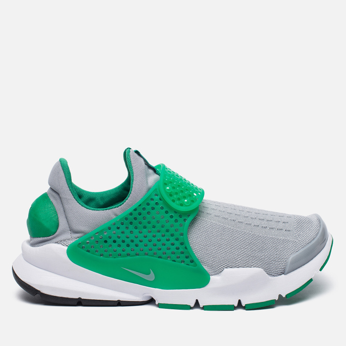Мужские кроссовки Nike Sock Dart Knit Jaquard Wolf Grey/Wolf Grey/Satdium Green/White