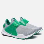 Мужские кроссовки Nike Sock Dart Knit Jaquard Wolf Grey/Wolf Grey/Satdium Green/White фото- 1