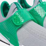 Мужские кроссовки Nike Sock Dart Knit Jaquard Wolf Grey/Wolf Grey/Satdium Green/White фото- 5