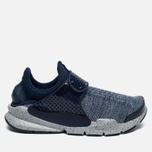 Кроссовки Nike Sock Dart SE Premium Midnight Navy/Wolf Grey/University Red фото- 0