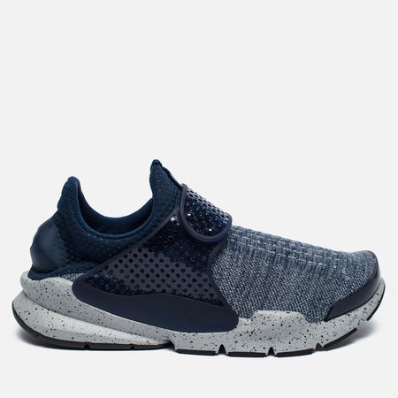 Кроссовки Nike Sock Dart SE Premium Midnight Navy/Wolf Grey/University Red