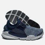Кроссовки Nike Sock Dart SE Premium Midnight Navy/Wolf Grey/University Red фото- 1