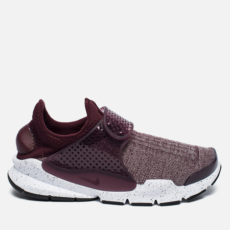 Кроссовки Nike Sock Dart SE Premium Night Maroon/University Red