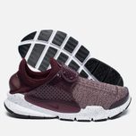 Кроссовки Nike Sock Dart SE Premium Night Maroon/University Red фото- 1