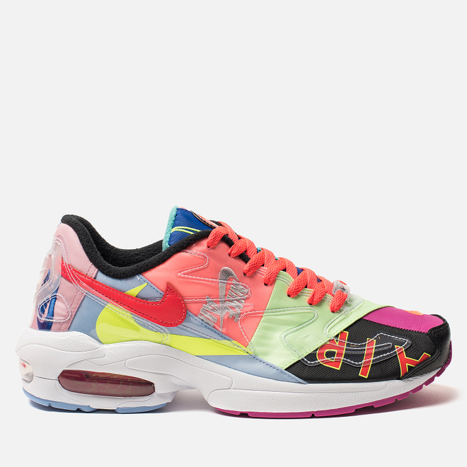 Кроссовки Nike x atmos Air Max 2 Light Black/Bright Crimson