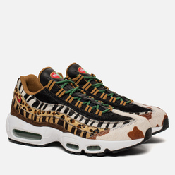 Кроссовки Nike x atmos Air Max 95 Deluxe Animal Pack 2.0 Pony/Sport Red/Black/Classic Green