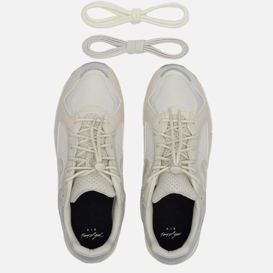 Мужские кроссовки Nike x Fear Of God Air Skylon II Light Bone/Clear/Reflect Silver/Sail