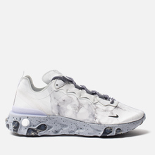 Кроссовки Nike x Kendrick Lamar React Element 55 Pure Platinum/Clear/Wolf Grey/Black фото- 3