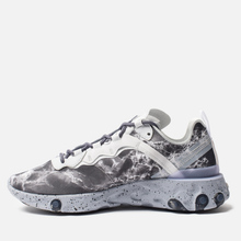 Кроссовки Nike x Kendrick Lamar React Element 55 Pure Platinum/Clear/Wolf Grey/Black фото- 5
