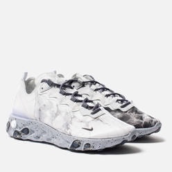 Мужские кроссовки Nike x Kendrick Lamar React Element 55 Pure Platinum/Clear/Wolf Grey/Black