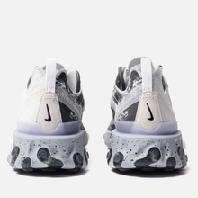 Кроссовки Nike x Kendrick Lamar React Element 55 Pure Platinum/Clear/Wolf Grey/Black фото- 2