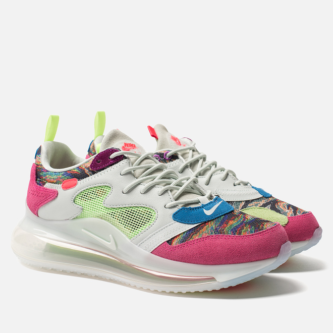 Кроссовки Nike x Odell Beckham Jr. Air Max 720 Multi-Color/Hyper Pink/Lime Blast