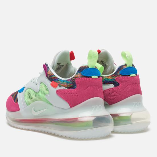 Кроссовки Nike x Odell Beckham Jr. Air Max 720 Multi-Color/Hyper Pink/Lime Blast
