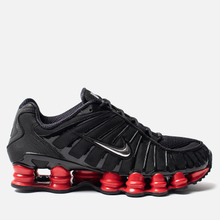 Кроссовки Nike x Skepta Shox TL Black/Metallic Silver/University Red фото- 3