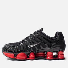 Кроссовки Nike x Skepta Shox TL Black/Metallic Silver/University Red фото- 5