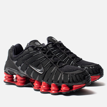 Кроссовки Nike x Skepta Shox TL Black/Metallic Silver/University Red фото- 0