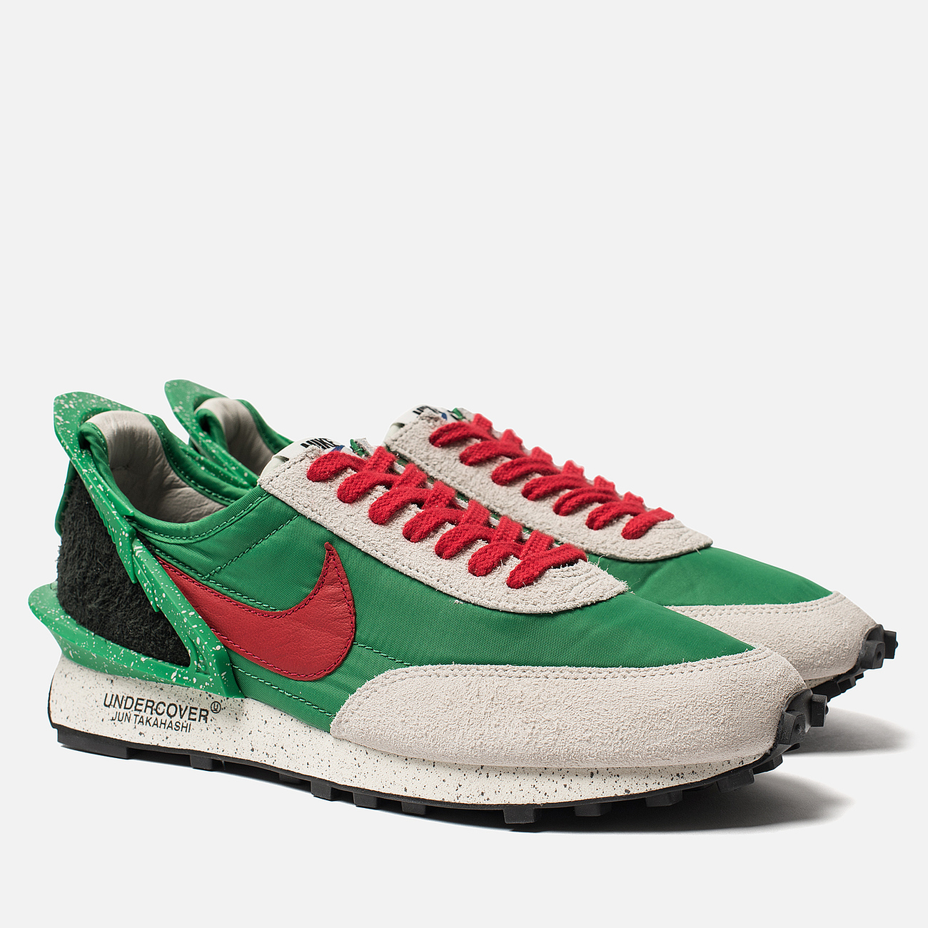 Кроссовки Nike x Undercover Daybreak Lucky Green/University Red/Sail