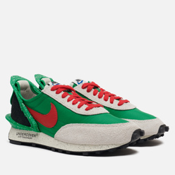 Женские кроссовки Nike x Undercover Wmns Daybreak Lucky Green/University Red/Sail