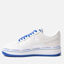 Кроссовки Nike x Uninterrupted Air Force 1 '07 MTAA QS White/Black/Racer Blue фото- 1