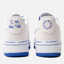 Кроссовки Nike x Uninterrupted Air Force 1 '07 MTAA QS White/Black/Racer Blue фото- 4
