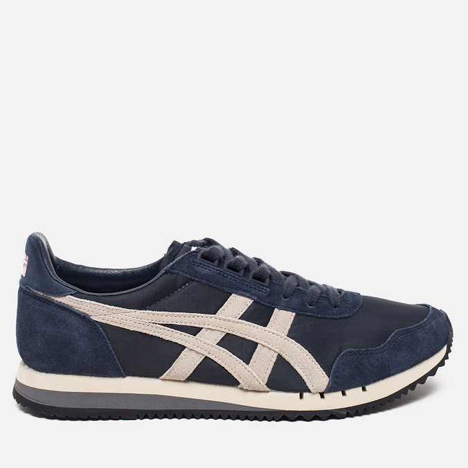 Мужские кроссовки Onitsuka Tiger Dualio Heritage Pack Indian Ink/White