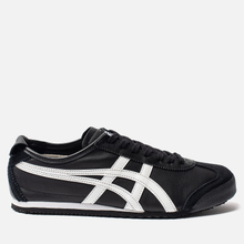 Кроссовки Onitsuka Tiger Mexico 66 Black/White фото- 3
